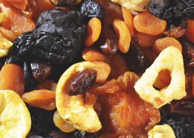 Засахаренные и сушеные фрукты